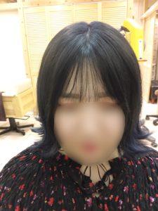 韓国タンバルモリカットと前髪のバランス