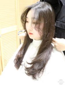 韓国デジタルパーマと根元パーマで作る本場韓国スタイル