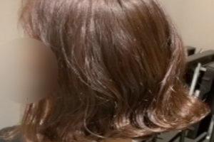 韓国デジタルパーマでつくるラッフルパーマ②