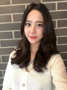 韓国デジタルパーマで作るウェーブスタイル②